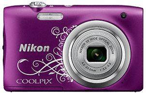 Nikon COOLPIX A100 fioletowy z ornamentem