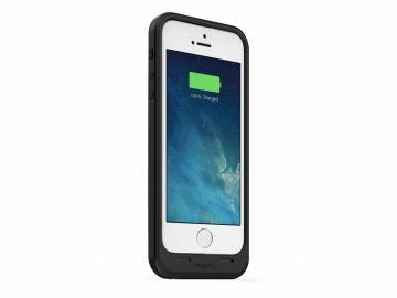 Mophie Juice Pack Air (kolor czarny) - zewnętrzna bateria (1700 mAh) wraz z obudową do iPhone 5/5S/SE