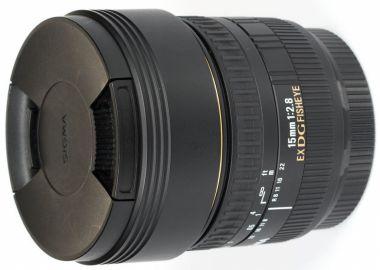 Sigma 15 mm f/2.8 DG EX rybie oko / Canon - powystawowy