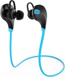 Aukey Bezprzewodowe EP-B4 Bluetooth 4.1 niebieskie