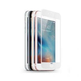 JCPAL Szkło ochronne 0,15mm iPhone 6 / 6s na cały ekran (biała ramka)