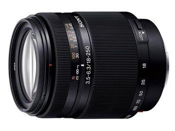 Sony 18-250 mm f/3.5-f/6.3 DT (SAL18250.AE) / Sony A