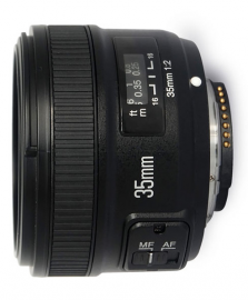 Yongnuo YN 35 mm f/2.0 N (mocowanie Nikon F)