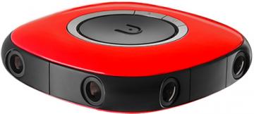 Vuze Kamera 360 stopni czerwona