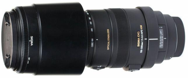 Sigma 150-500 mm f/5.0-f/6.3 APO DG OS HSM / Canon - powystawowy