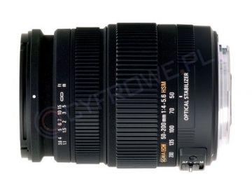 Obiektyw Sigma 50-200 mm f/4.0-5.6 DC OS HSM / Pentax