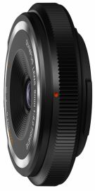Olympus 9 mm f/8.0 fisheye zaślepka bagnetu czarna