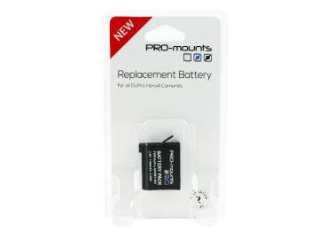 PRO-mounts Bateria do HERO4