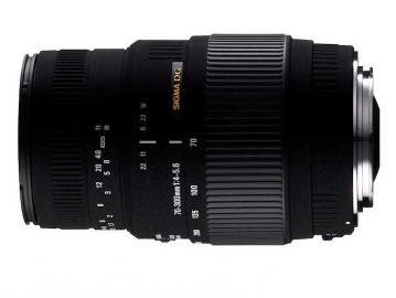 Sigma 70-300 mm f/4.0-f/5.6 DG MACRO / Nikon (z silnikiem)