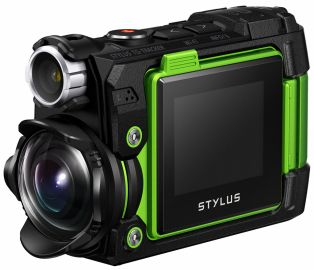 Olympus TOUGH TG-Tracker zielona