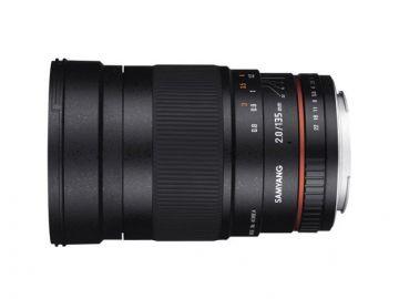 Samyang 135 mm f2.0 ED UMC / Canon
