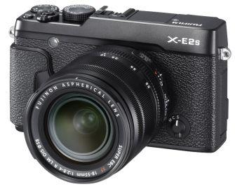 FujiFilm X-E2S czarny + ob. XF 18-55mm + karta Sandisk 16 GB 80MB/s GRATIS