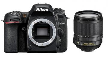 Nikon D7500 + ob. 18-105 VR - Przynieś stary aparat i zyskaj 425zł