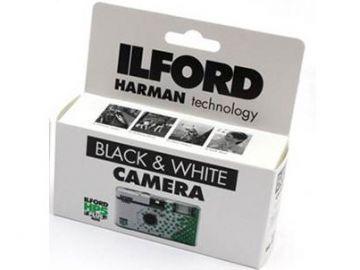 Ilford z aparatem jednorazowym HP5