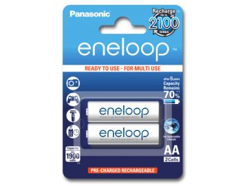 Panasonic Eneloop AA 1900 mAh 2100 cykli 2szt.
