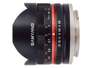 Samyang 8 mm f/2.8 UMC Fish-eye II / Sony E
