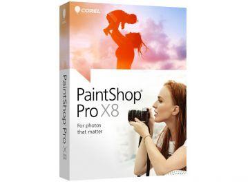 Corel PaintShop Pro X8 ML Mini Box
