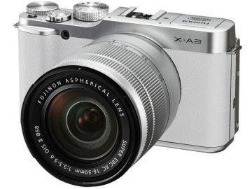 FujiFilm X-A2 biały + ob. XC 16-50mm