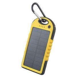 Forever Power Bank solarny 5000 mAh żółty
