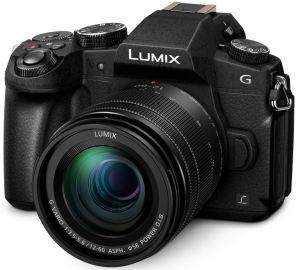Panasonic LUMIX DMC-G80 + ob. 12-60 czarny