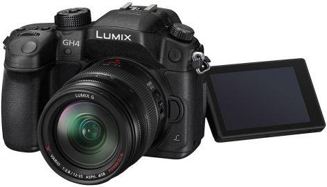 Panasonic Lumix DMC-GH4R + ob. 12-35 czarny