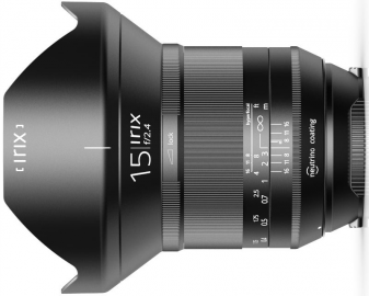 Irix 15 mm f/2.4 Blackstone / Canon EF