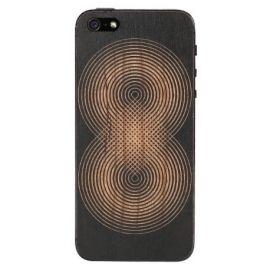 LAZERWOOD ANDY GILMORE AD - drewniana skórka czarna na tył iPhone 5/5S