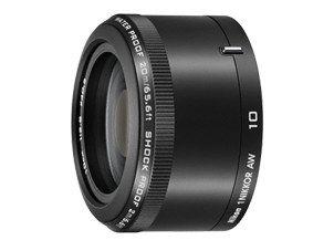 Nikon 1 Nikkor AW 10 mm f/2.8 czarny