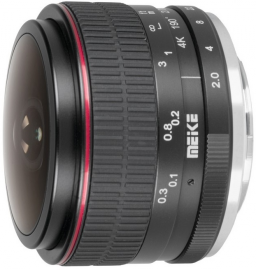 MeiKe MK-6.5 mm f/2.0 / Canon EF-M