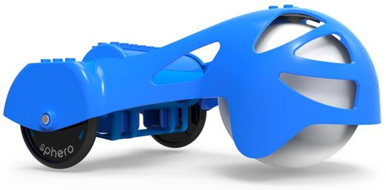 Sphero Chariot rydwan, wózeczek do doczepienia do kulki Sphero, niebieski