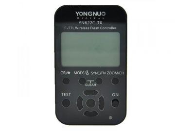 Yongnuo YN-622C-TX LCD kontroler radiowy (stopka Canon)