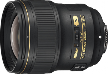 Nikon Nikkor 28mm f/1.4E AF-S ED