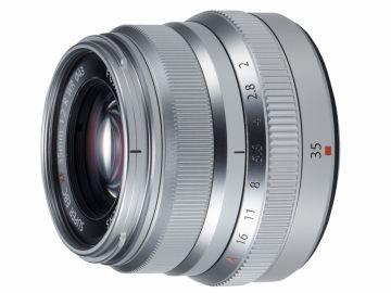 FujiFilm Fujinon XF 35 mm f/2 R WR srebrny