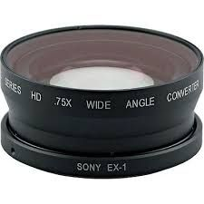 Century Optics 0.75x do Panasonic AG-HVX200