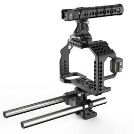 8sinn klatka do a7RII/a7SII, Top Handle Pro, Universal Rod Support