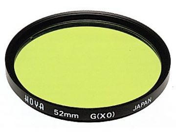 Hoya X0 Yellow-Green 72 mm HMC