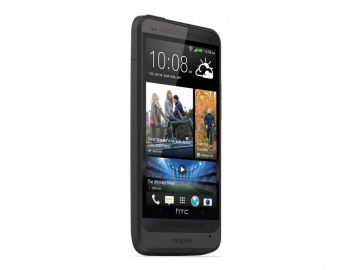 Mophie Juice Pack HTC ONE (kolor czarny) - obudowa ochronna z wbudowaną baterią (2500 mAh) dedykowana dla HTC ONE