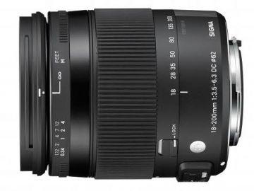 Sigma C 18-200 mm f/3.5-f/6.3 DC Macro OS HSM / Nikon