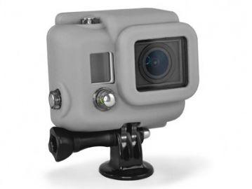 Xsories GoPro Hero 3 pokrowiec silikonowy szary