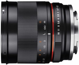 Samyang 35 mm f/1.2 AS UMC CS / Canon M