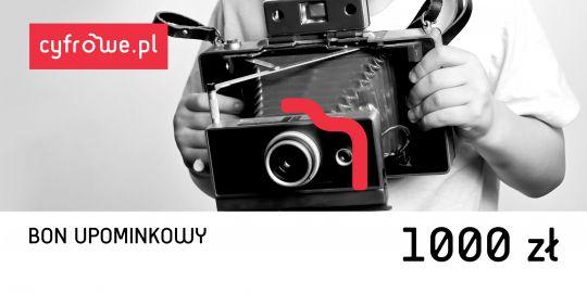 Bony Cyfrowe.pl - bon upominkowy o wartości 1000 zł