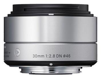 Sigma A 30 mm f/2.8 DN / Sony E srebrny