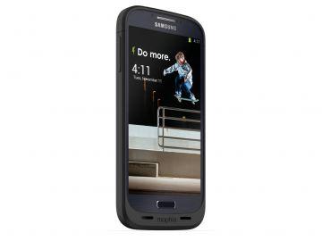 Mophie Juice Pack Galaxy S4 (kolor czarny) - obudowa ochronna z wbudowaną baterią (2300 mAh) dedykowana dla Samsung Galaxy S4