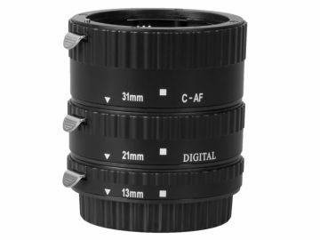 Delta MeiKe Pierścienie pośrednie 13/21/31 do Canon EF