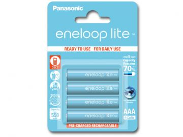 Panasonic Eneloop LITE AAA 550 mAh 3000 cykli 4szt.