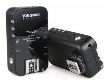 Yongnuo YN-622C zestaw 2 nadajników/odbiorników (stopka Canon)