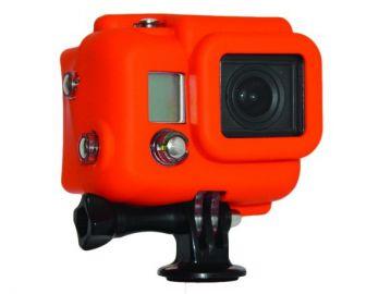 Xsories GoPro Hero 3 pokrowiec silikonowy zakryta pomarańczowy