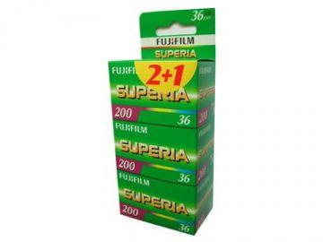 FujiFilm Superia 200/135/36 3szt.