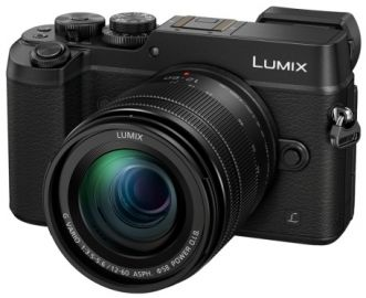 Panasonic LUMIX DMC-GX8 + ob. 12-60 POWER O.I.S. czarny