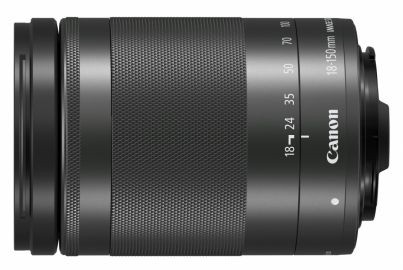 Canon EF-M 18-150 mm f/3.5-6.3 IS STM czarny